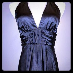 Tina Turk black cocktail dress